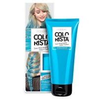 L'Oreal Paris Hair Color Colorista Semi-Permanent for Light Blonde or Bleached Hair, Turquoise