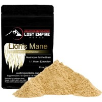 Lion's Mane Mushroom Dual Extract - Organic Nootropic Supplement - Helps Regulate Mood, Supports Brain Function, Improves Well Being, Memory Support - (100 g)