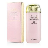 [MISSHA] All-Around Safe Block Soft Finish Sun Milk SPF50+ PA+++ 40ml