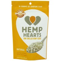 Manitoba Harvest Hemp Hearts Raw Shelled Hemp Seeds, 2 Ounce (Pack of 12)