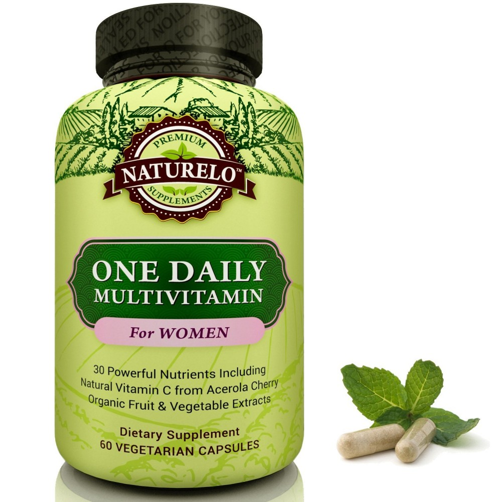 Buy NATURELO One Daily Multivitamin for Women - Best Vitamins for ...
