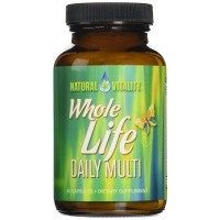 Natural Vitality Organic Whole Life Daily Multi Vitamin Tablets, 90 Count