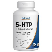 Nutricost 5-HTP 100mg; 240 Capsules (5-Hydroxytryptophan)