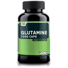 Optimum Nutrition Glutamine Capsules, 1000mg, 120 Count