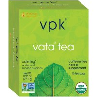 Organic Calming Vata Herbal Tea |16 Tea Bags