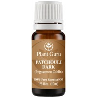 Patchouli Essential Oil (Dark) 10 ml. 100% Pure, Undiluted, Therapeutic Grade.