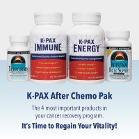 Physician Formulated K-PAX After Chemo Pack - Natural Immune System Support - Improves Energy - Detox and Digestive Support - 1 Month Supply