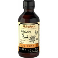 Piping Rock Anise 100% Pure Essential Oil 2 fl oz (59 ml) Bottle Pimpinella Anisum Therapeutic Grade