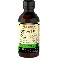 Piping Rock Cypress 100% Pure Essential Oil 2 fl oz (59 ml) Bottle Therapeutic Grade