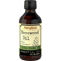 Piping Rock Rosewood 100% Pure Essential Oil Bois de Rose 2 fl oz (59 ml) Bottle Therapeutic Grade