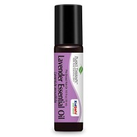 Plant Therapy Lavender Pre-Diluted Essential Oil Roll-On. Ready to use! 100% Pure, Therapeutic Grade Essential Oils Diluted in Fractionated Coconut Oil. 10 ml (1/3 oz).