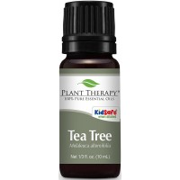 Plant Therapy Tea Tree (Melaleuca) Essential Oil. 100% Pure, Undiluted, Therapeutic Grade. 10 mL (1/3 Ounce).