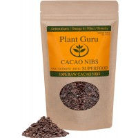 "Premium Raw Cacao Nibs - 16oz/1 Pound ""Guaranteed Highest Quality"""