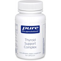 Pure Encapsulations - Thyroid Support Complex - Hypoallergenic Supplement with Herbs and Nutrients for Optimal Thyroid Gland Function* - 60 Capsules
