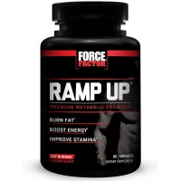 Ramp Up Thermogenic Fat Burner, Weight Loss Supplement to Burn Fat, Boost Energy and Stamina, Reduce Fatigue, & Speed Recovery, Force Factor, 60 Count