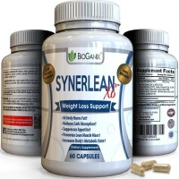 SYNERLEAN-X6 Best Weight Loss Pills For Men & Women - Scientifically Proven All Natural Supplement To Enhance Fat Loss - Top Fat Burner, Appetite Suppressant, Carb Blocker & Metabolism Booster