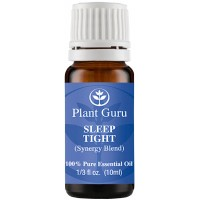 Sleep Tight Synergy Essential Oil Blend 10 ml. 100% Pure, Undiluted, Therapeutic Grade. (Blend Of: Bulgarian Lavender, Spanish Marjoram, Ylang Ylang, Copaiba, Roman Chamomile, Rue, Sandalwood)