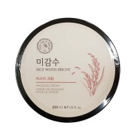 THE FACE SHOP Rice Water Bright Massage Cream/ Made in Korea by Beautyshop
