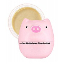 TONYMOLY Pure Farm Pig Collagen Sleeping Pack, 2.82 Ounce