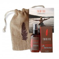 Thrive Shave & Restore Kit - 2 Piece Grooming Gift Set for Men with Shave Oil and After Shave Moisturizing Face Lotion; Made with Organic and Unique Premium Natural Ingredients; Great Gift for Dad