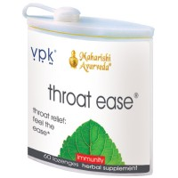 Throat Ease | 60 Herbal Lozenges | Soothes an Irritated Throat | Effective for Hoarseness | Freshens the Breath