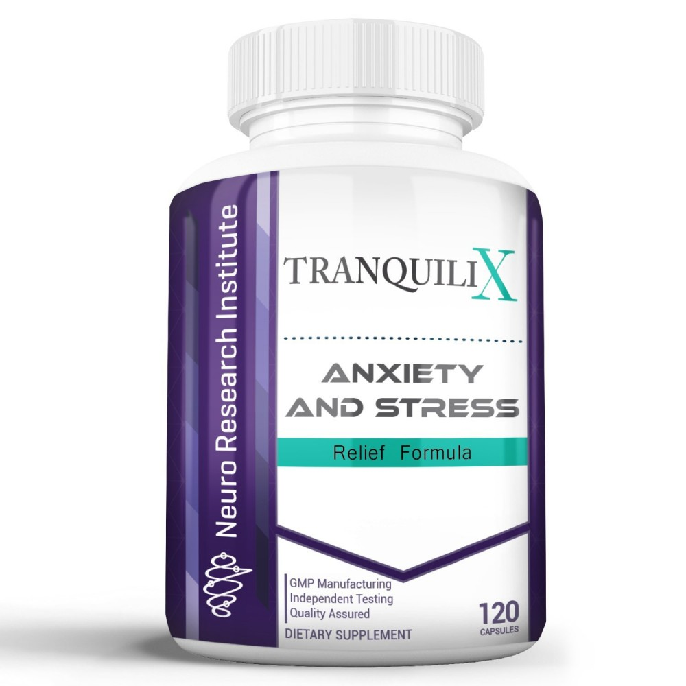 Buy TranquiliX Anxiety and Stress Relief Formula ...