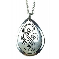 Ultimately Essential Oil Aromatherapy Diffuser Necklace Elegant Locket/Pendant - Hypo Allergenic 316L Surgical Grade Stainless Steel Wear Your Favorite Oil Around Your Neck All Day Long! Perfect Gift