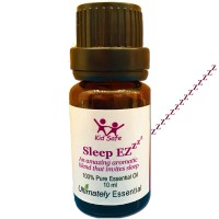 "Ultimately Essential ""Sleep EZ"" Essential Oil Blend of Lavender, Clary Sage, Sweet Orange, Sweet Marjoram, Bergamot, Ylang Ylang – Wondrous Aroma That Will Soothe You to Sleep Every Time–10 ml"