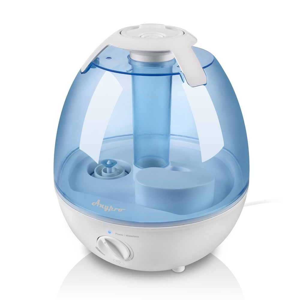buy ultrasonic cool mist humidifier anypro 3 5l air humidifiers with super quiet operation. Black Bedroom Furniture Sets. Home Design Ideas