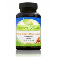 White Kidney Bean Extract | 500mg 100 Capsules | 1% Phaseolin Carb Blocker | Weight Management Support