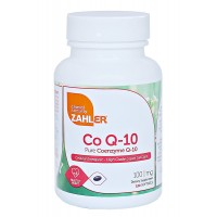 Zahler CoQ10, High Absorption Pure Coenzyme Q-10 Supporting Healthy HEART, All Natural UBIQUINONE Supplement for Cellular Energy, Certified Kosher (120 Count)