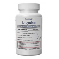 #1 L-Lysine by Superior Labs - 100% Pure, 500mg per serving, 120 Vegetable Capsules - Made In USA, 100% Money Back Guarantee