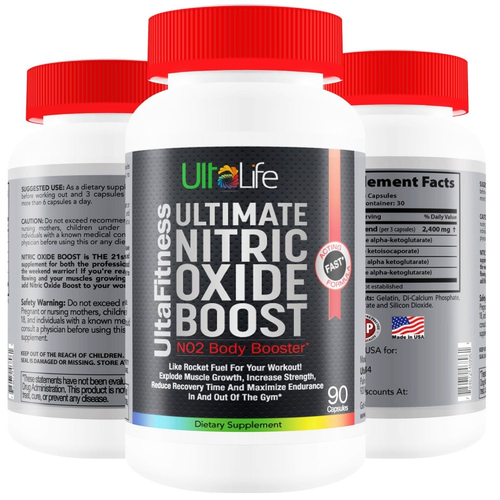 Buy #1 Nitric Oxide Booster -- Ultimate Nitric Oxide
