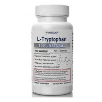 #1 Quality L-Tryptophan by Superior Labs - No Magnesium Stearate - 500mg, 120 Vegetable Caps - Made In USA, 100% Money Back Guarantee
