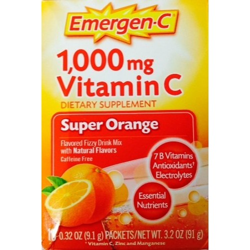 Alacer Corp Emergen-C Super Orange (10 Packets)