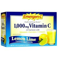 Alacer Emergen-C Vitamin C Drink Mix - Lemon-Lime - 1000 mg - 30 Packets