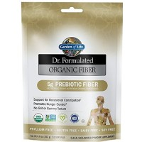 Garden Of Life Dr. Formulated Organic Fiber, Unflavored, 6.8 Ounce
