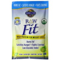 garden of life fit. Garden Of Life Raw Fit Protein Tray Powder, Vanilla, 10 Count
