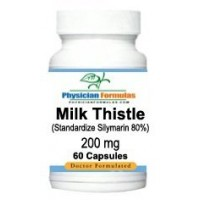 Milk Thistle Extract 80% Silymarin 200 Mg, 60 Capsules - Endorsed by Dr. Ray Sahelian, M.D
