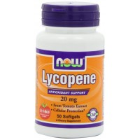 NOW Foods Lycopene, 50 Softgels / 20mg - Cellular Antioxidant