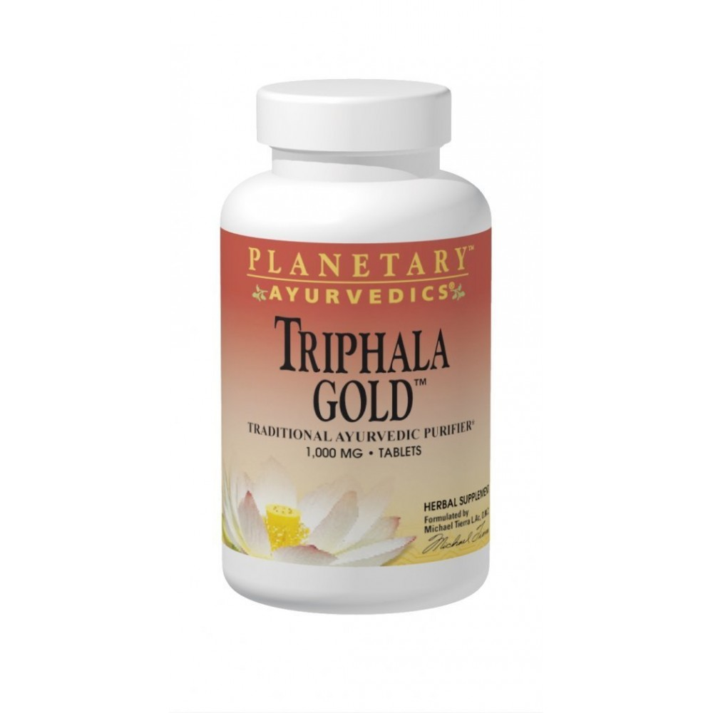 Buy herbal supplements 1000 count capsules - Planetary Herbals Triphala Gold Ayurvedic Herbal Supplement 1000 Mg 120 Count