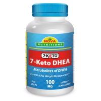 7-KETO 100 mg 120 Vcaps by Nova Nutritions