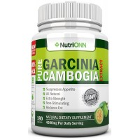 80% HCA PURE GARCINIA CAMBOGIA EXTRACT- 4500MG/Day - 180 Capsules - 3rd Party Tested!!! - 100% Natural Appetite Suppressant - Certified Super Strenght - ★WEIGHT LOSS GUARANTEED OR YOUR MONEY BACK!★ FREE BONUS EBOOK!