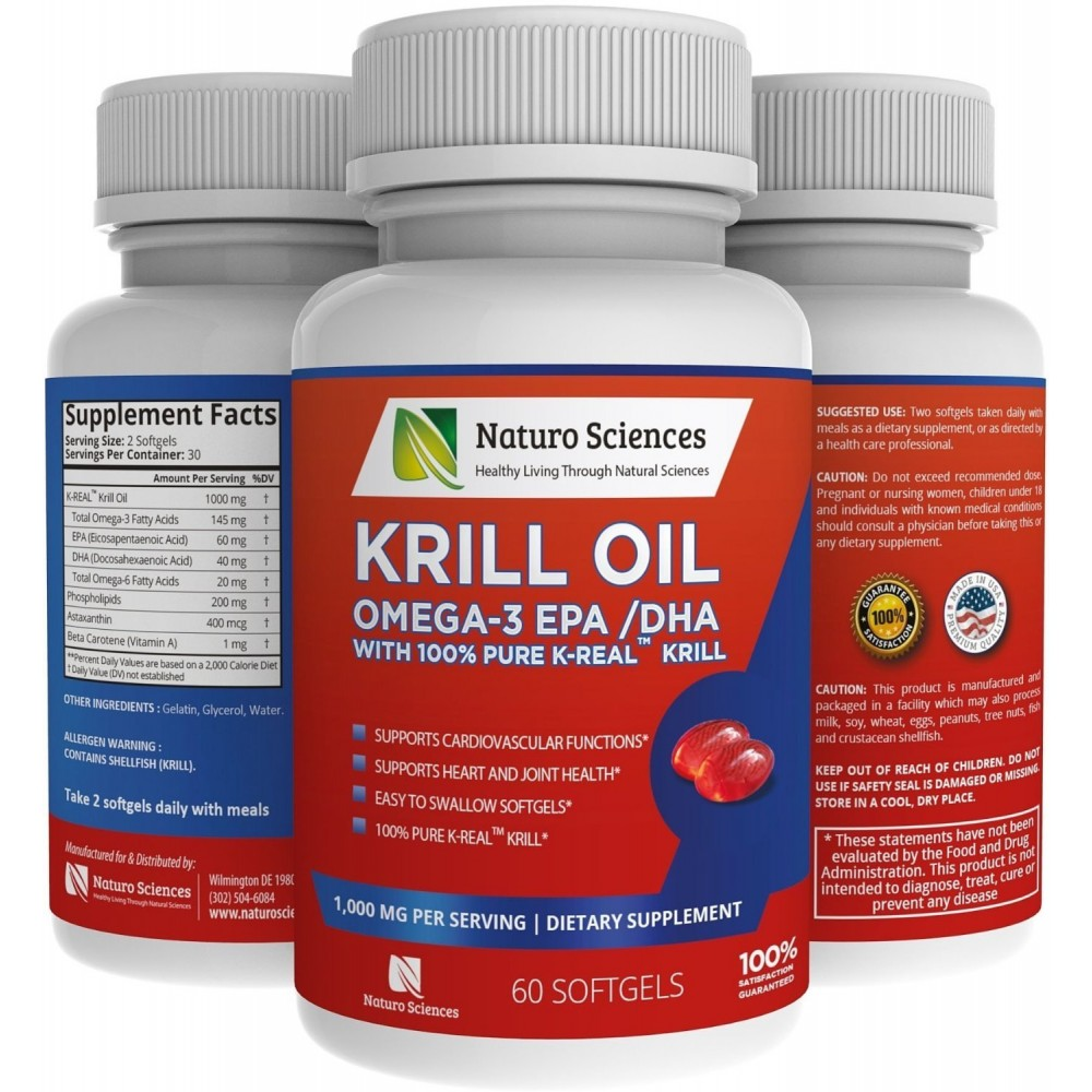 Buy antarctic krill oil omega 3 supplement by naturo for Fish oil with astaxanthin