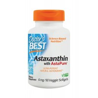 Doctor's Best Astaxanthin 6 mg 90 Softgels