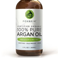BEST ORGANIC Argan Oil for Hair, Face, Skin and Nails - 100% Pure Certified Organic Argan Oil - GUARANTEED to Provide Beautifully Healthy, Nutrient-Rich Moisture... Anti Aging, Vitamin E - Cold Pressed