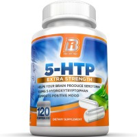 BRI Nutrition 5-HTP - 120 Count 100mg 5 HTP Veggie Capsules - Helps to Improve Your Overall Mood, Relaxation, Sleep & Increases Appetite Control