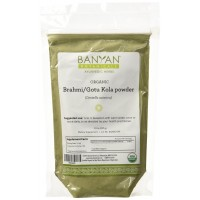 Banyan Botanicals Brahmi/Gotu Kola Powder - Certified Organic, 1/2 Pound - Centella asiatica - A Mental Rejuvenative that Supports Healthy Brain and Nervous System Functions*