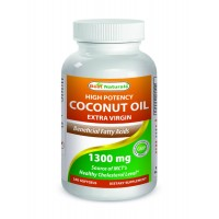 Best Naturals Coconut Oil 1300 mg 180 Softgels