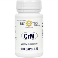 BioTech Pharmacal - CrM- 100 Count (Chromium Supplement)